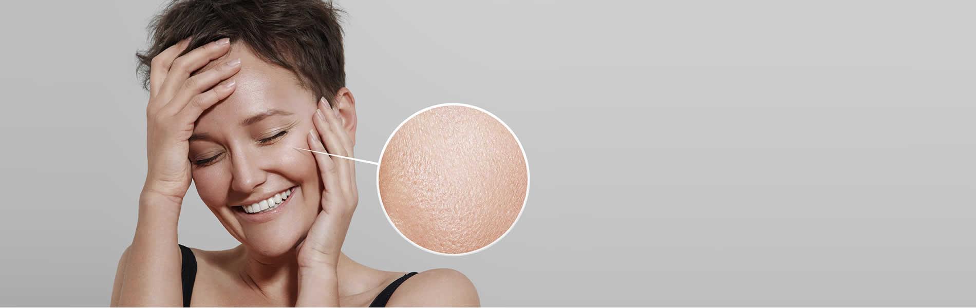 visage peau nette jeune - rajeunissement visage